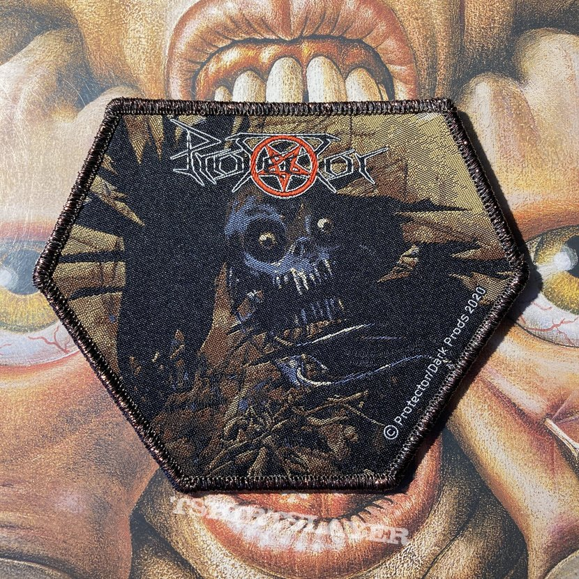 Protector - Urm the Mad official woven patch by DarkProds
