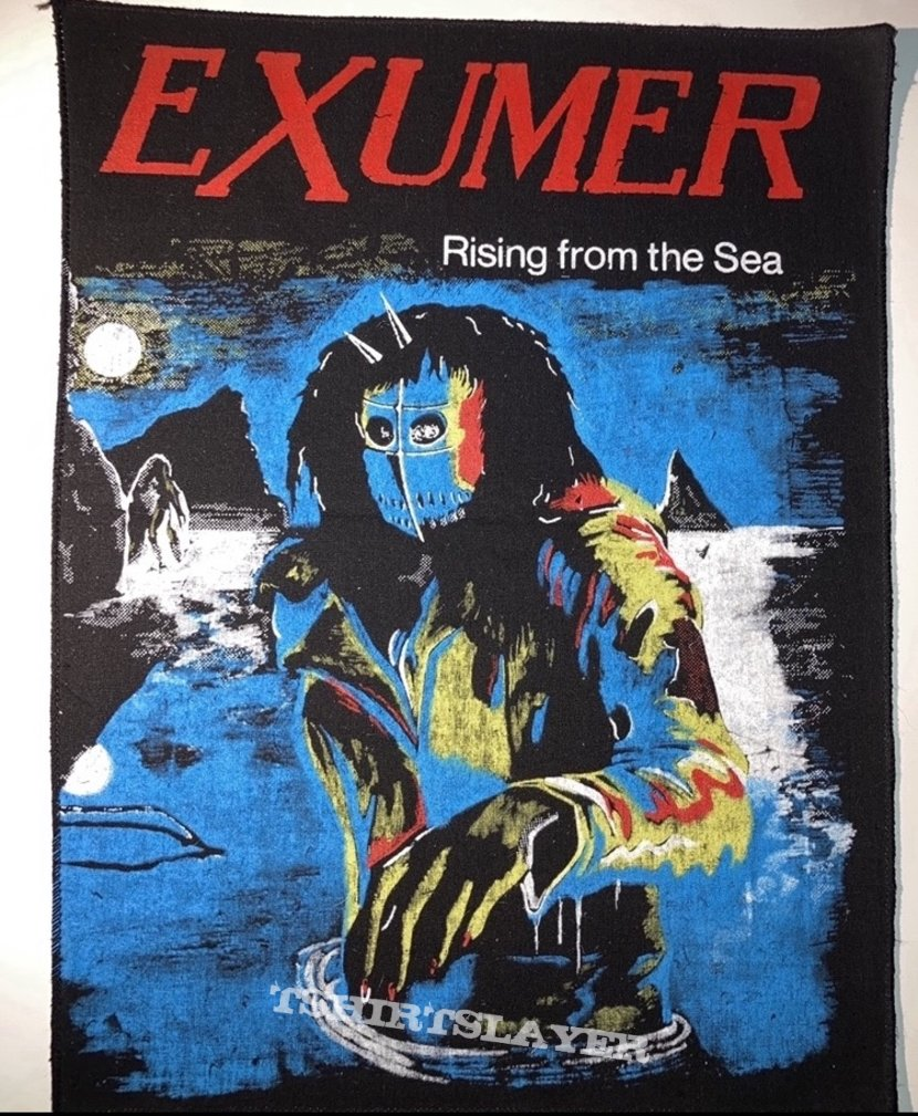 Vintage Exumer - Rising From the Sea woven backpatch