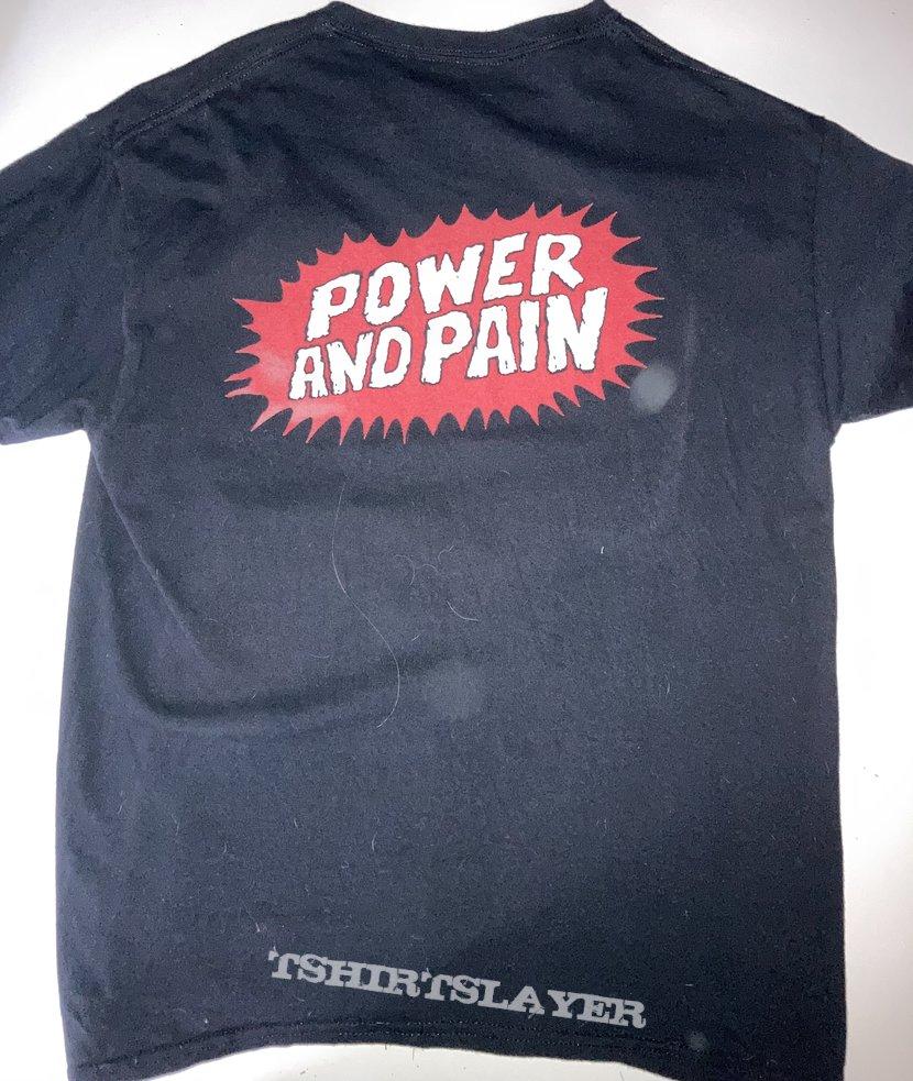 Whiplash - Power and Pain shirt