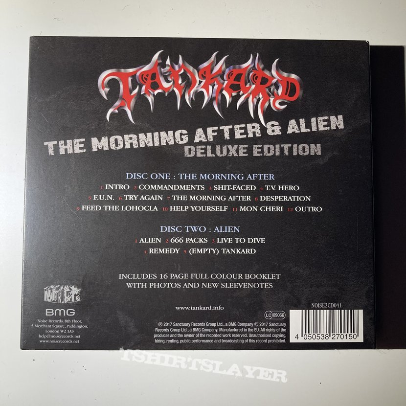 Tankard - The Morning After / Alien EP CD