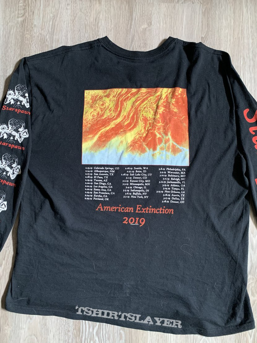 "Blood Incantation ""American Extinction Tour 2019"" Longsleeve"