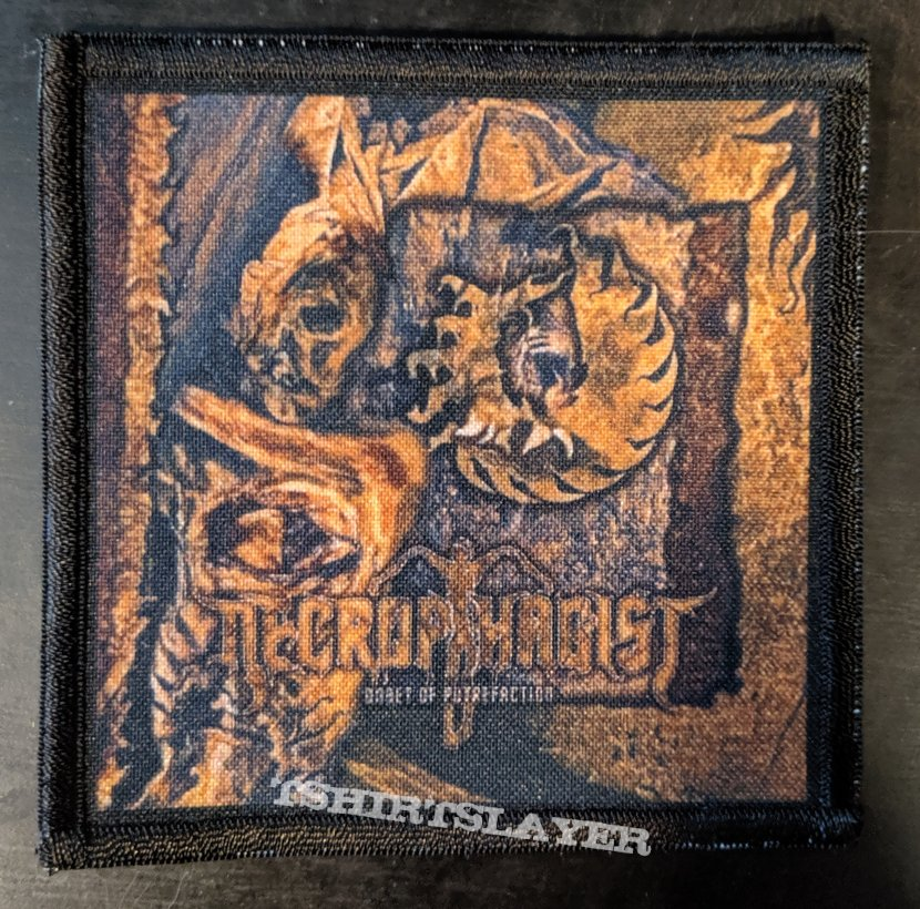 Necrophagist Onset Of Putrefaction Printed Patch