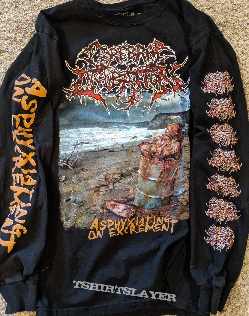 Cerebral Incubation Asphyxiating On Excrement Long Sleeve