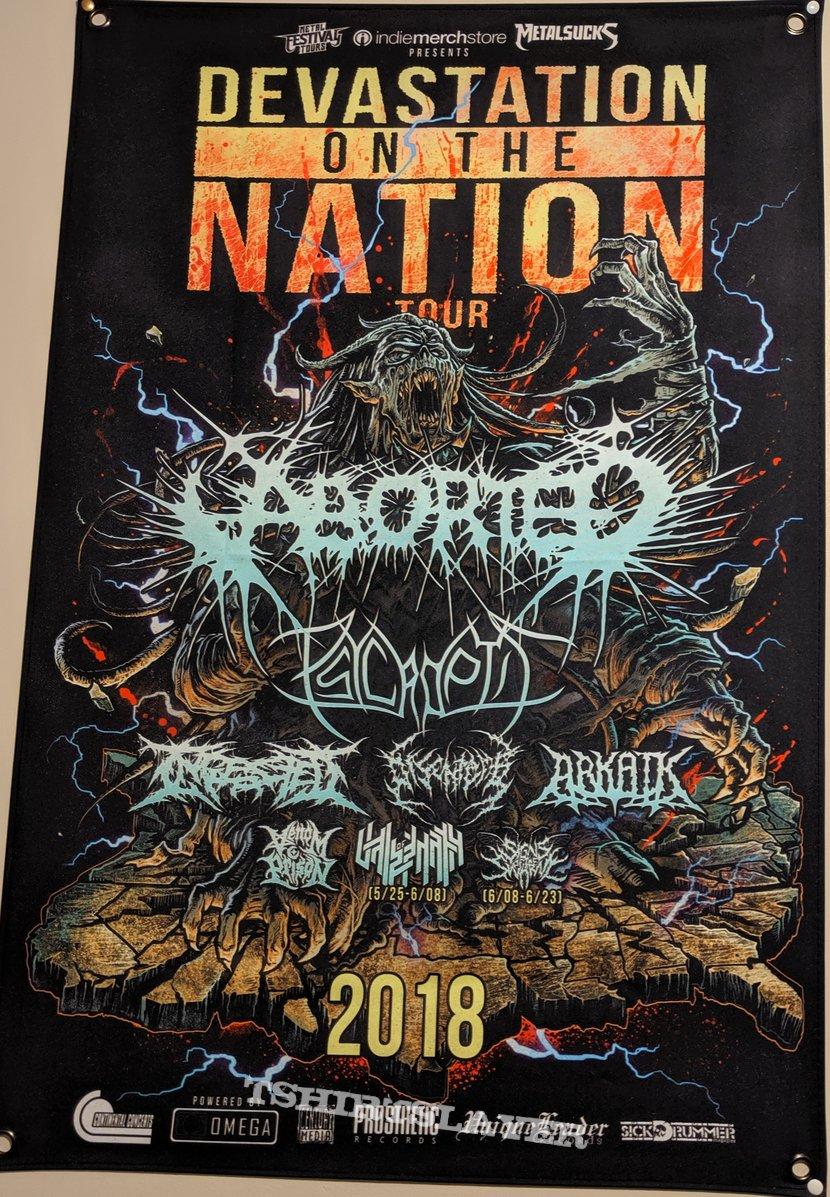 Devastation On The Nation 2018 Flag