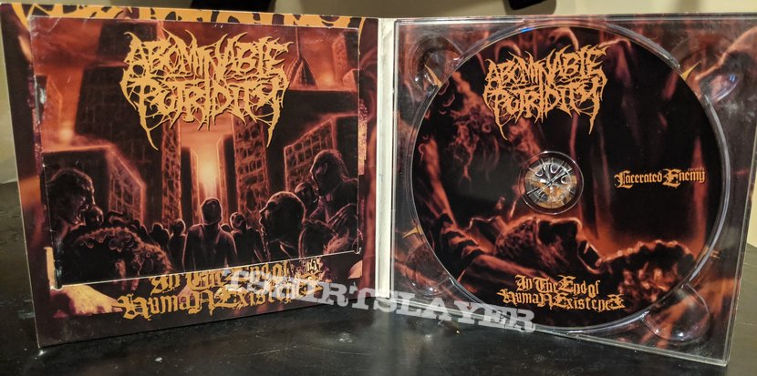 Abominable Putridity In The End Of Human Existence Digipak