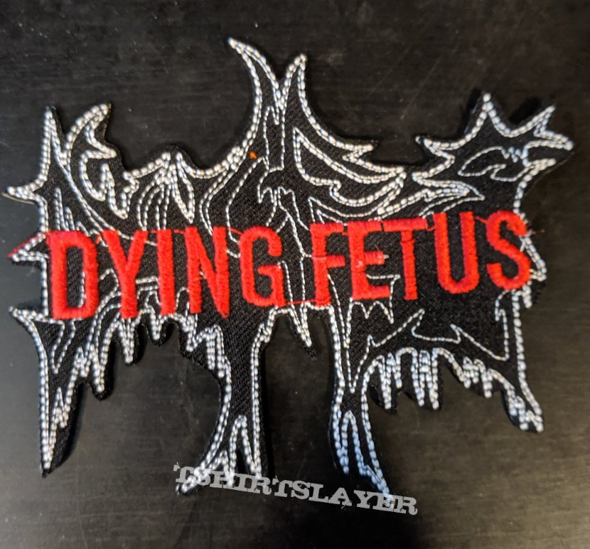 Dying Fetus Embroidered Shaped Patch