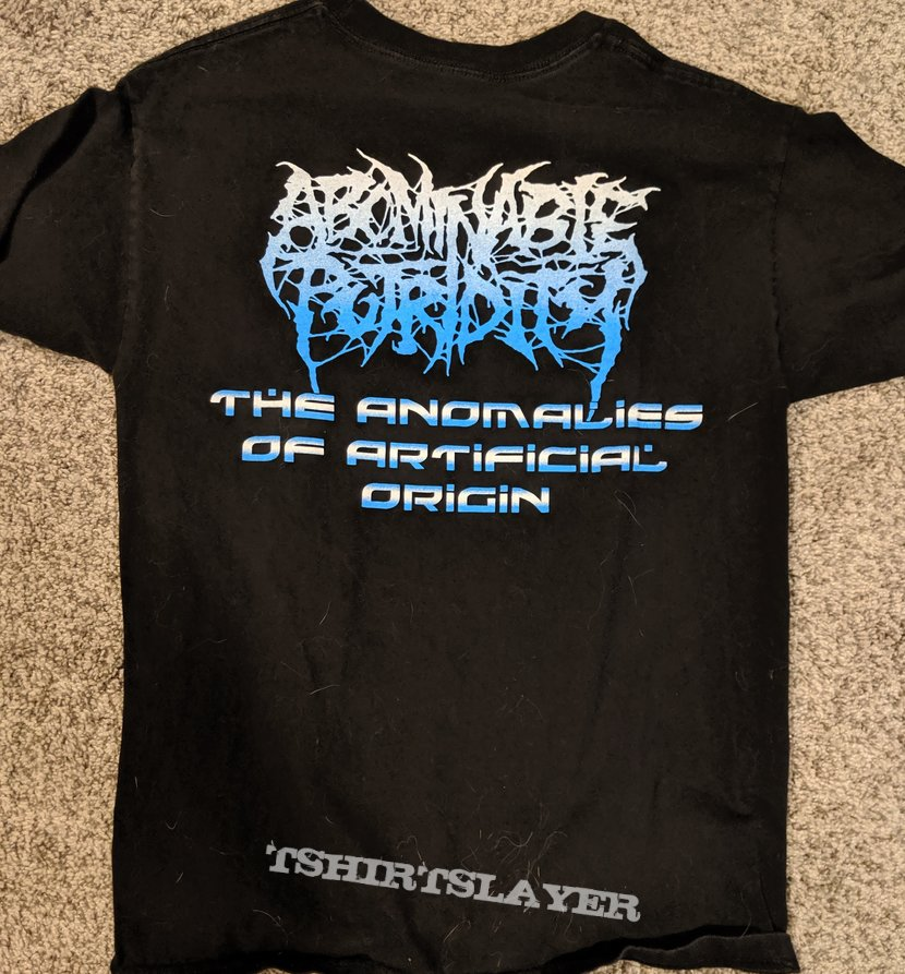 Abominable Putridity The Anomalies Of Artificial Origin Short Sleeve