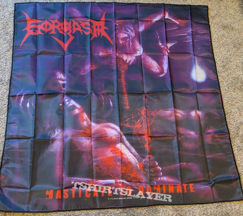 Gorgasm Masticate To Dominate Flag