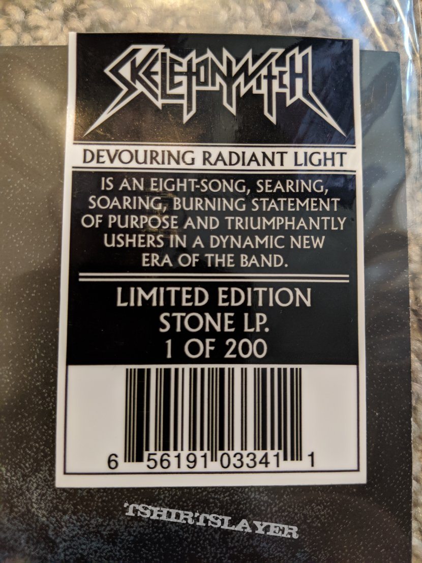 Skeletonwitch Devouring Radiant Light Vinyl