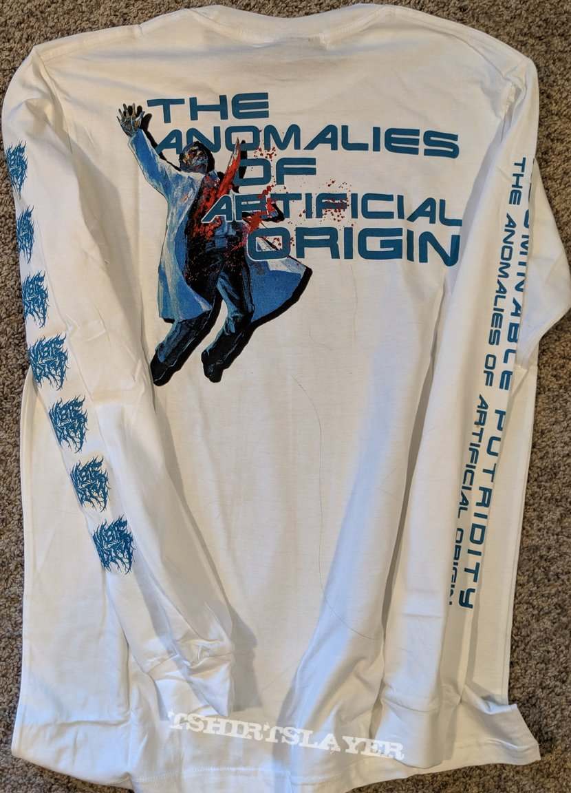 Abominable Putridity-Anomalies Of Artificial Origin White Long Sleeve