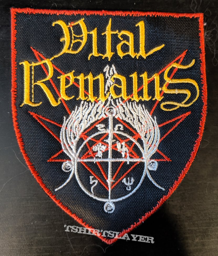 Vital Remains Embroidered Patch