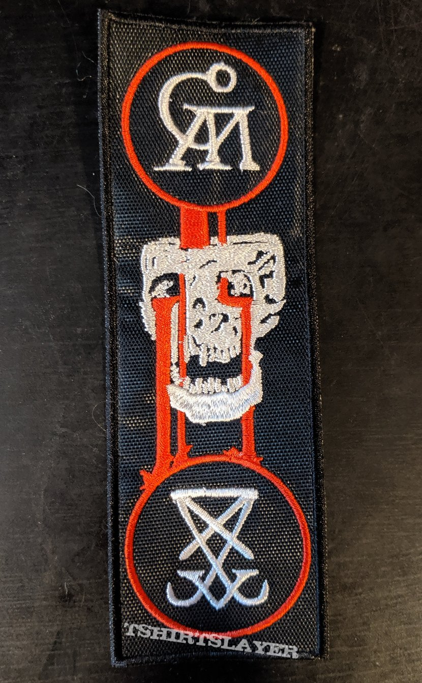 Goatwhore Blood For The Master Embroidered Patch