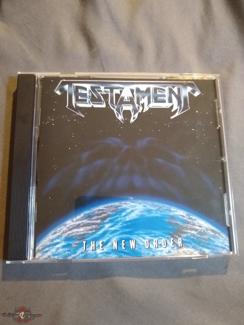 Testament The New Order CD