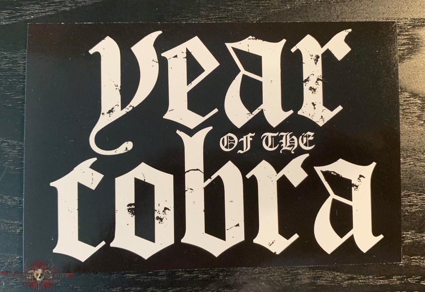 Year of the Cobra sticker
