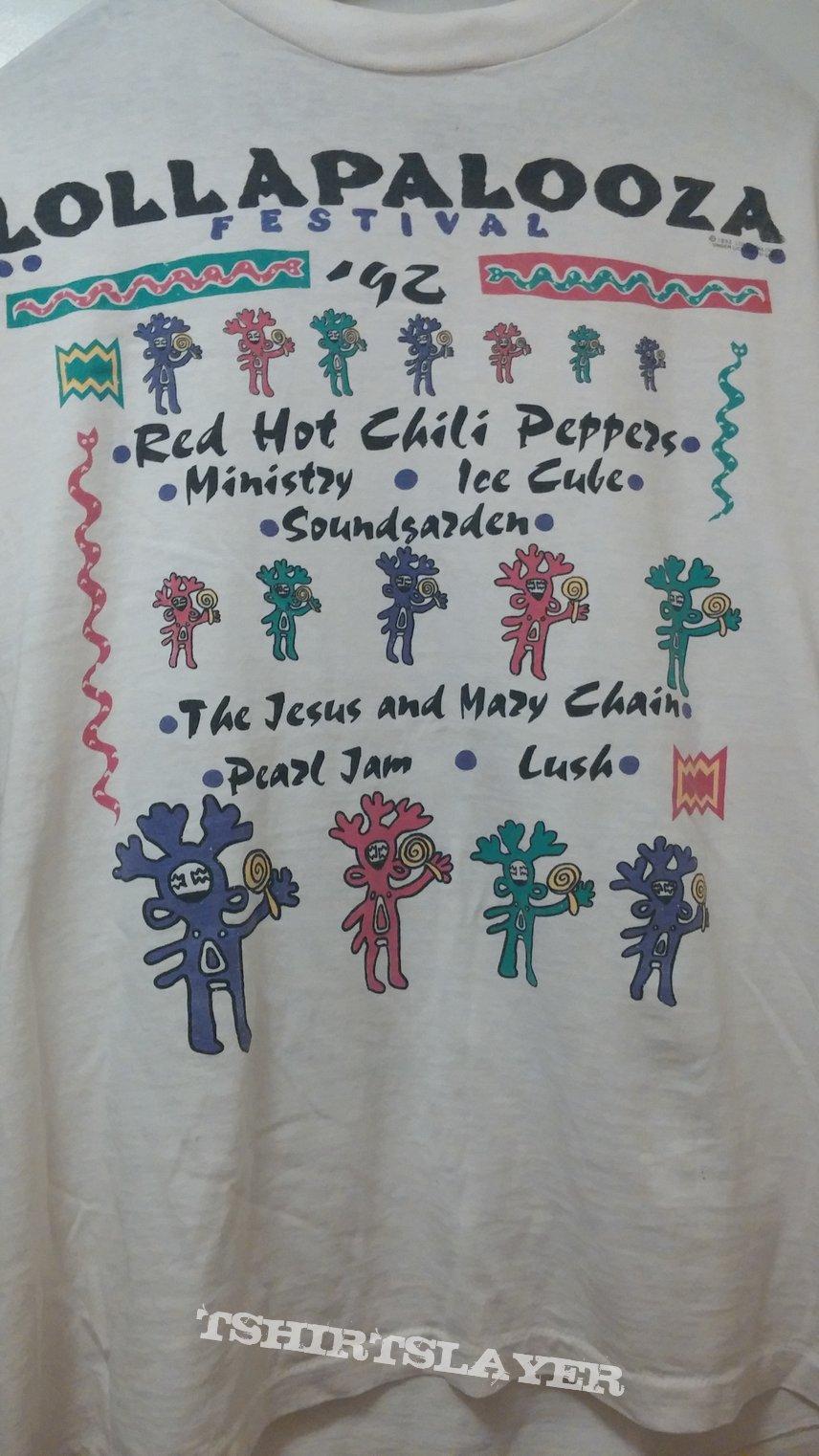 Lollapalooza '92 t-shirt