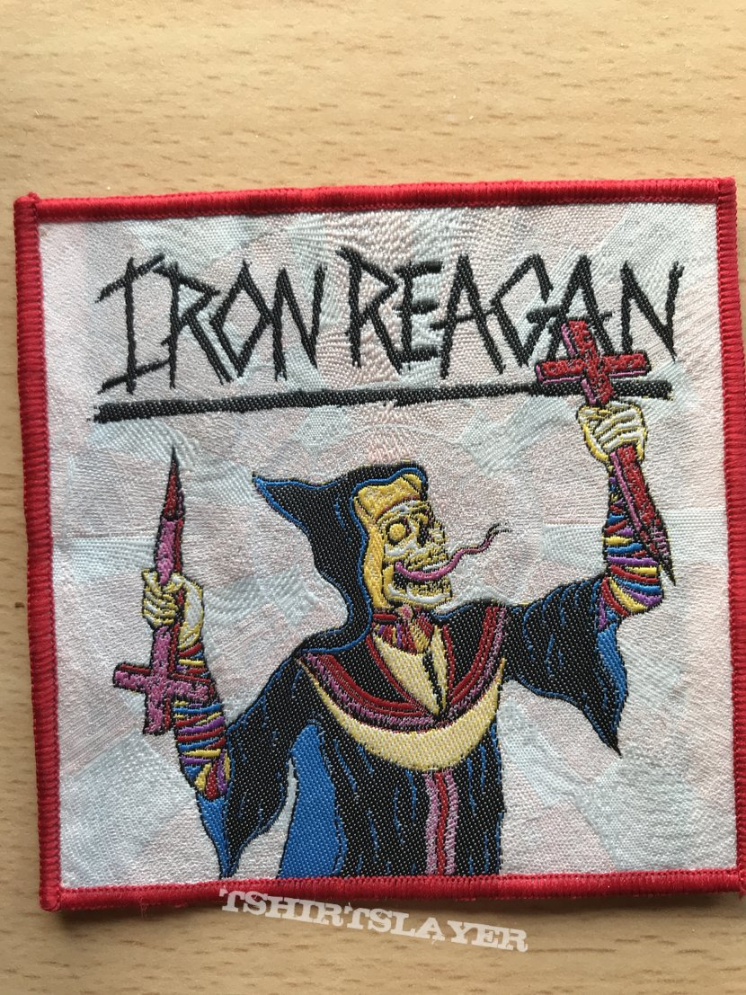 Iron Reagan - Crossover Ministry Patch
