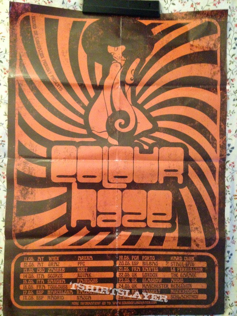 Colour Haze 2018 EU Tour Poster