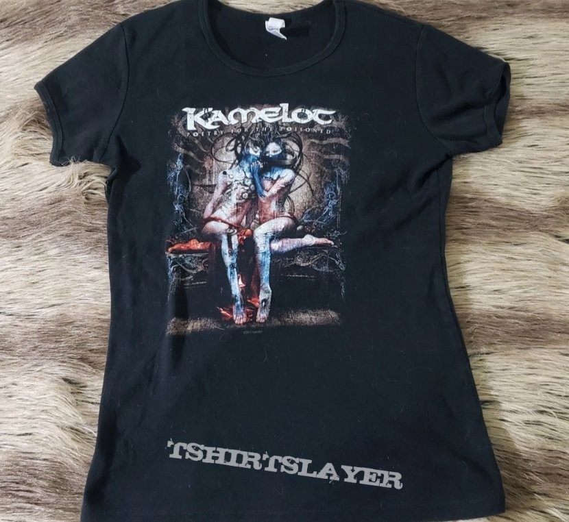 "Kamelot ""Poetry for the Poisoned"" girlie tee."