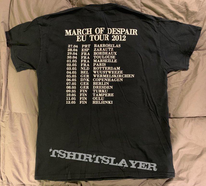 Coffins M T-shirt 2012 European Tour