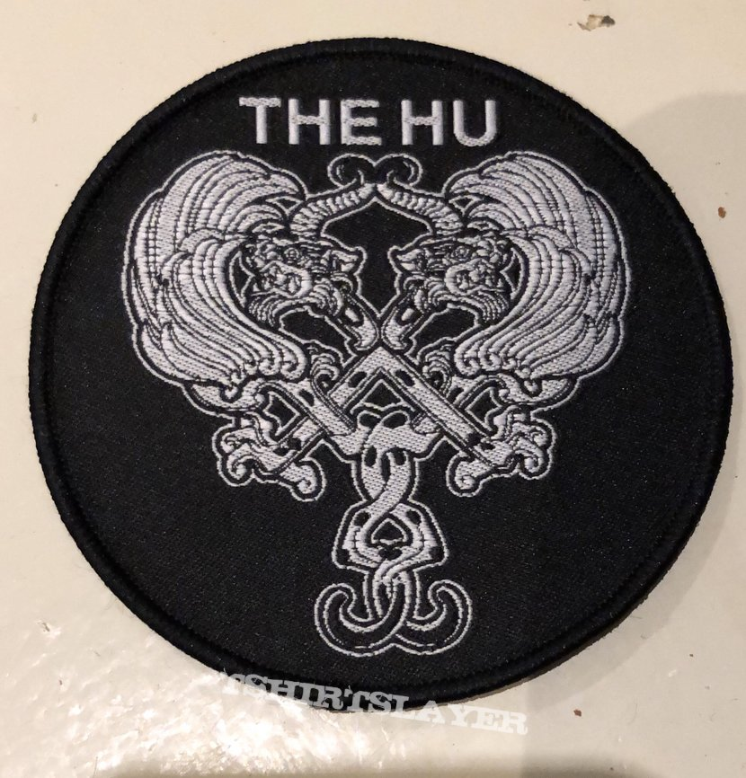 The Hu woven patch