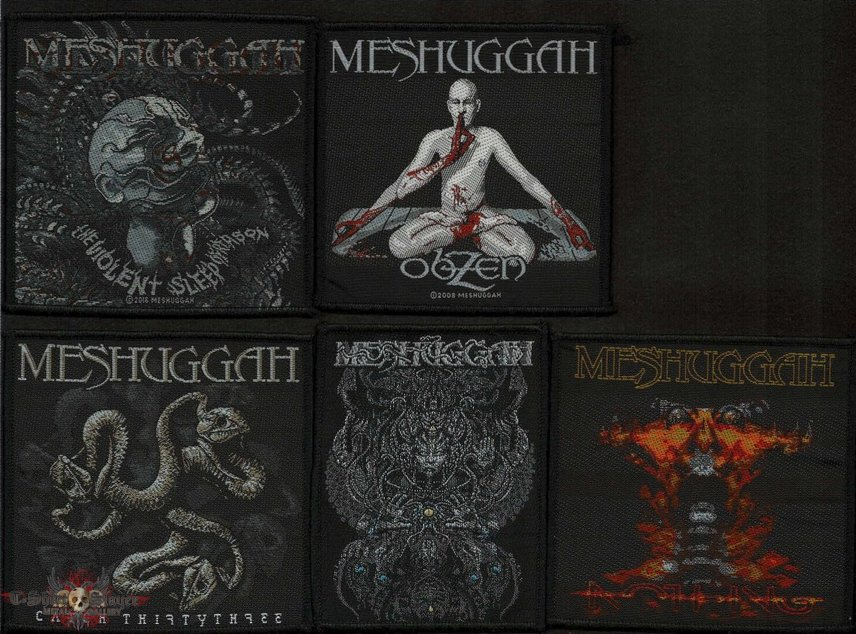 Mshuggah patches