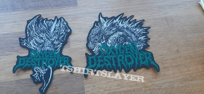 Woven Oxygen Destroyer Patches