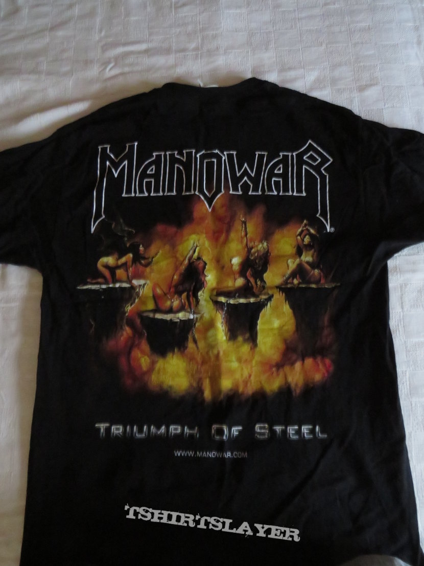 Manowar Triumof of Steel