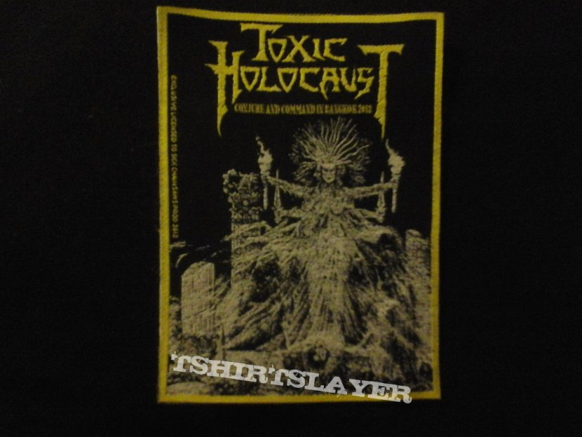"Toxic Holocaust ""Conjure and Command"" tour patch"