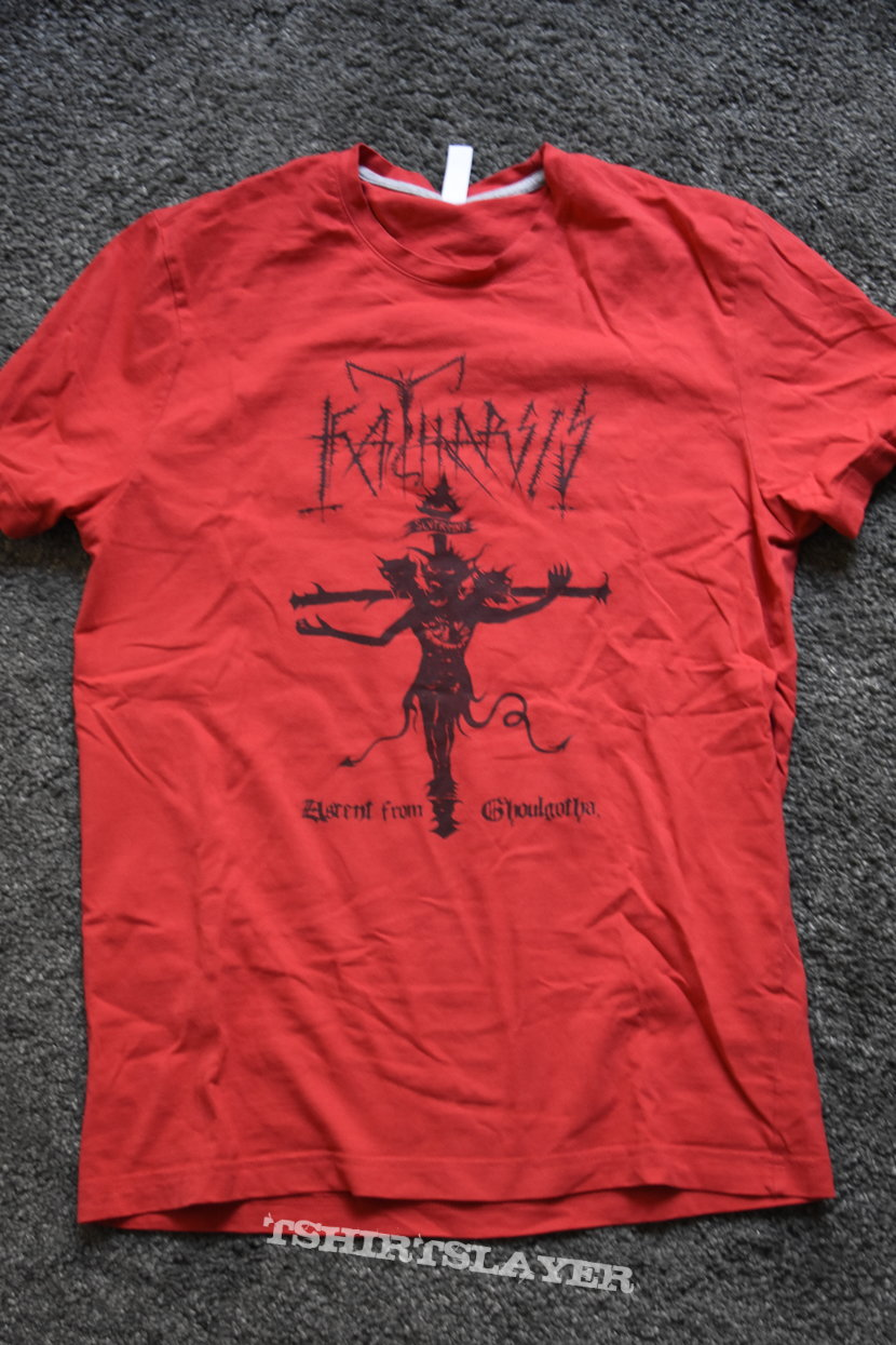 Katharsis - Ascent From Ghoulgotha t-shirt