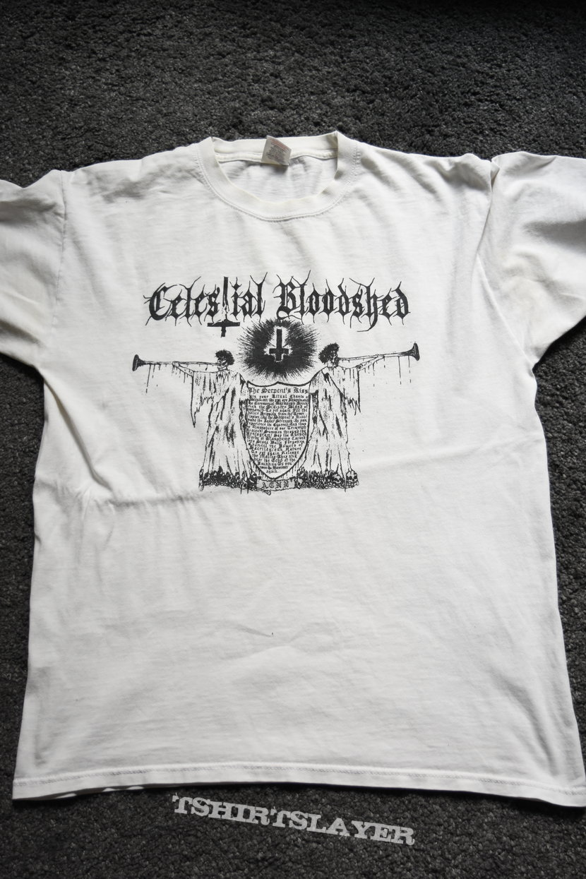 Celestial Bloodshed - The Serpent's Kiss t-shirt