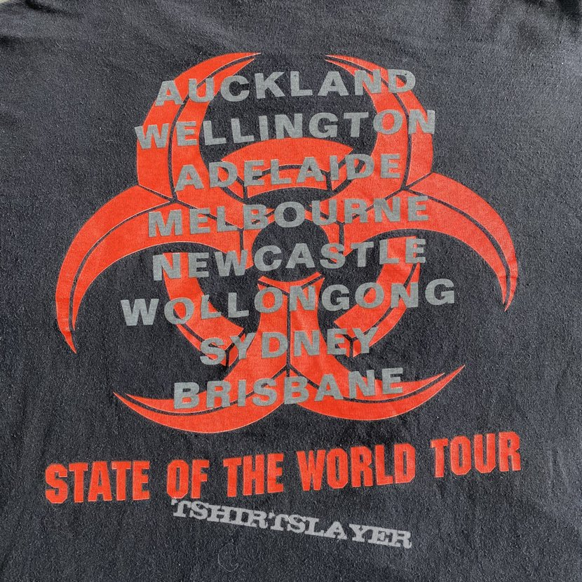 Biohazard Tales Of The Hardside State Of The World Australian Tour