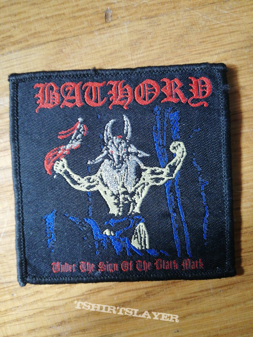 Bathory Under The sign patch