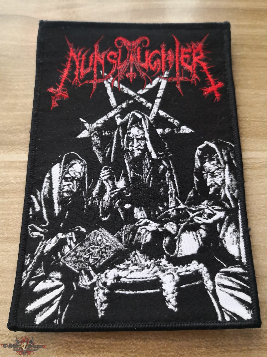 Nunslaughter Official Woven Patch