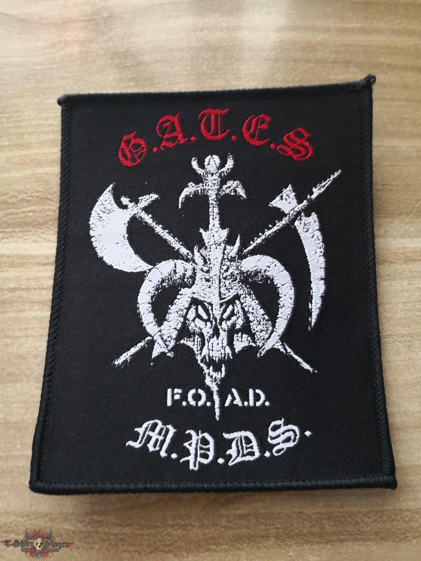 G.A.T.E.S Woven Patch