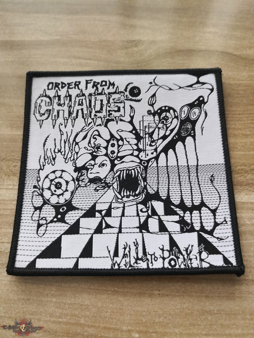 Order From Chaos Woven Patch