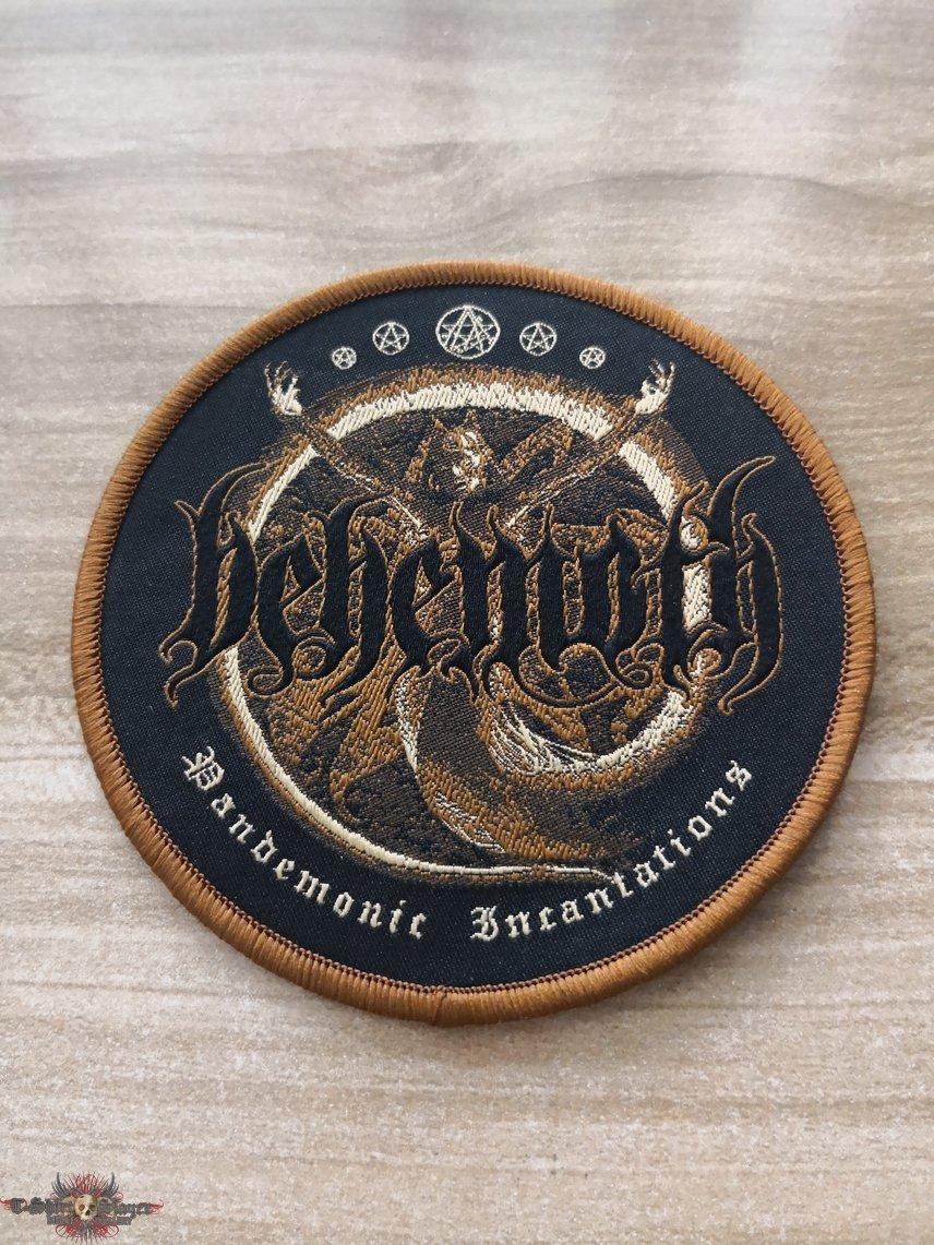 Behemoth Woven Patch