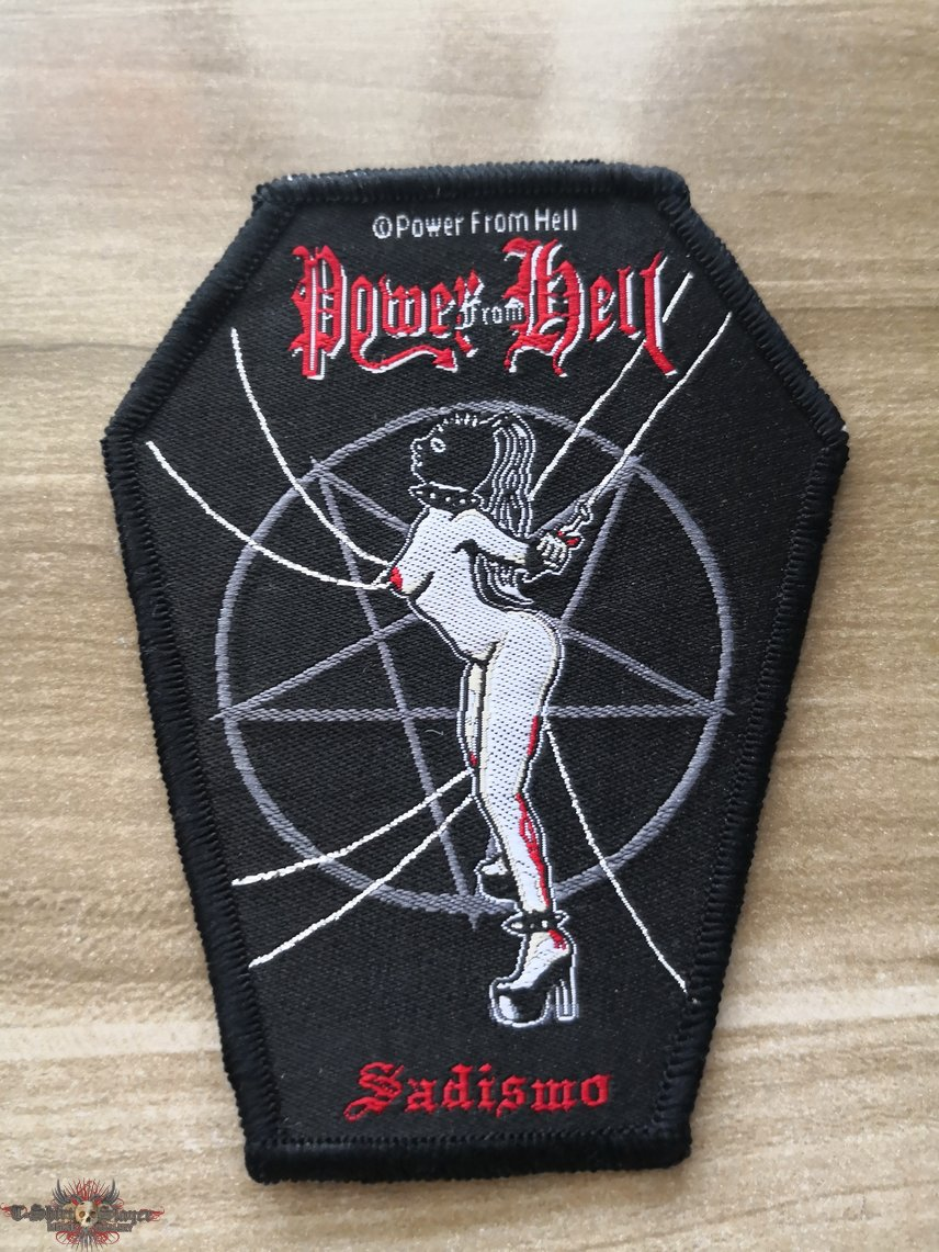 Power From Hell Official Woven Patch