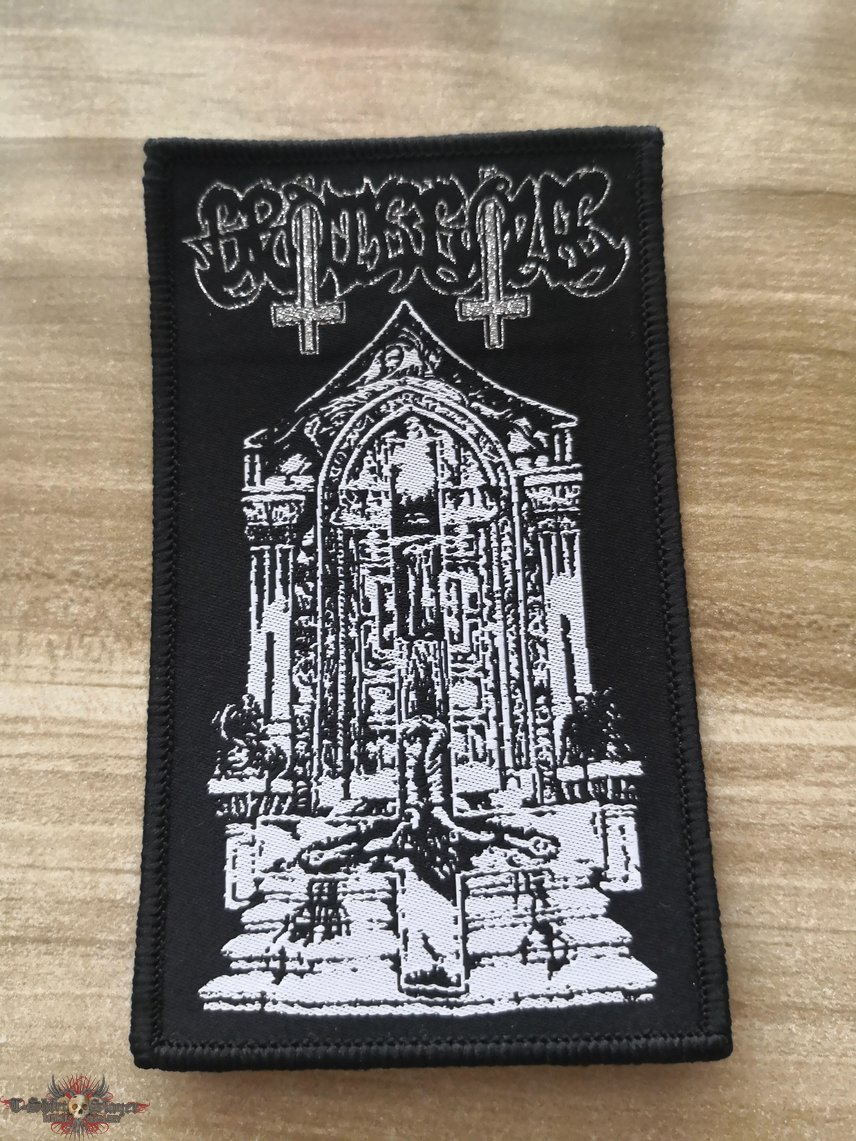 Grotesque Woven Patch