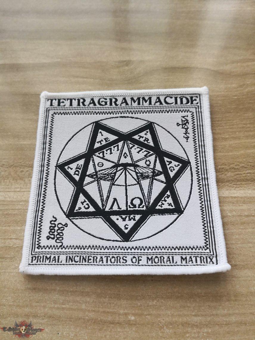 Tetragrammacide Official Woven Patch