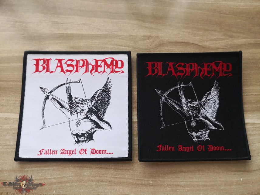 Blasphemy Official Woven Patches