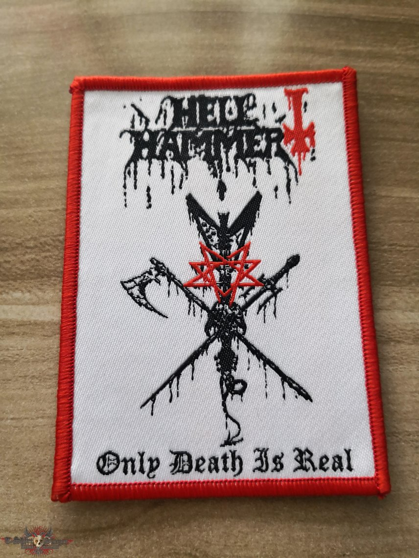 Hellhammer Woven Patch 3