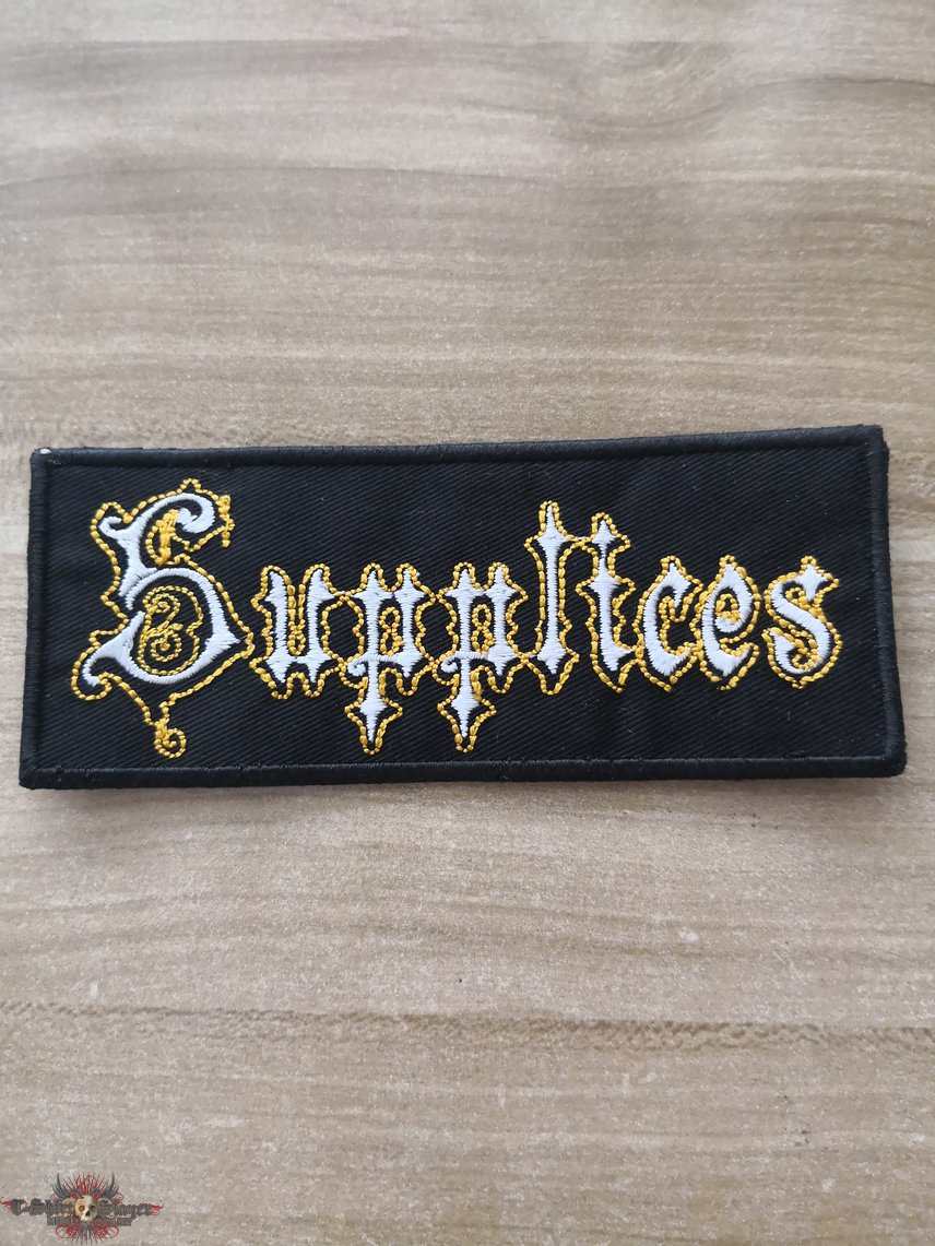 Supplices Official Embroidered Patch