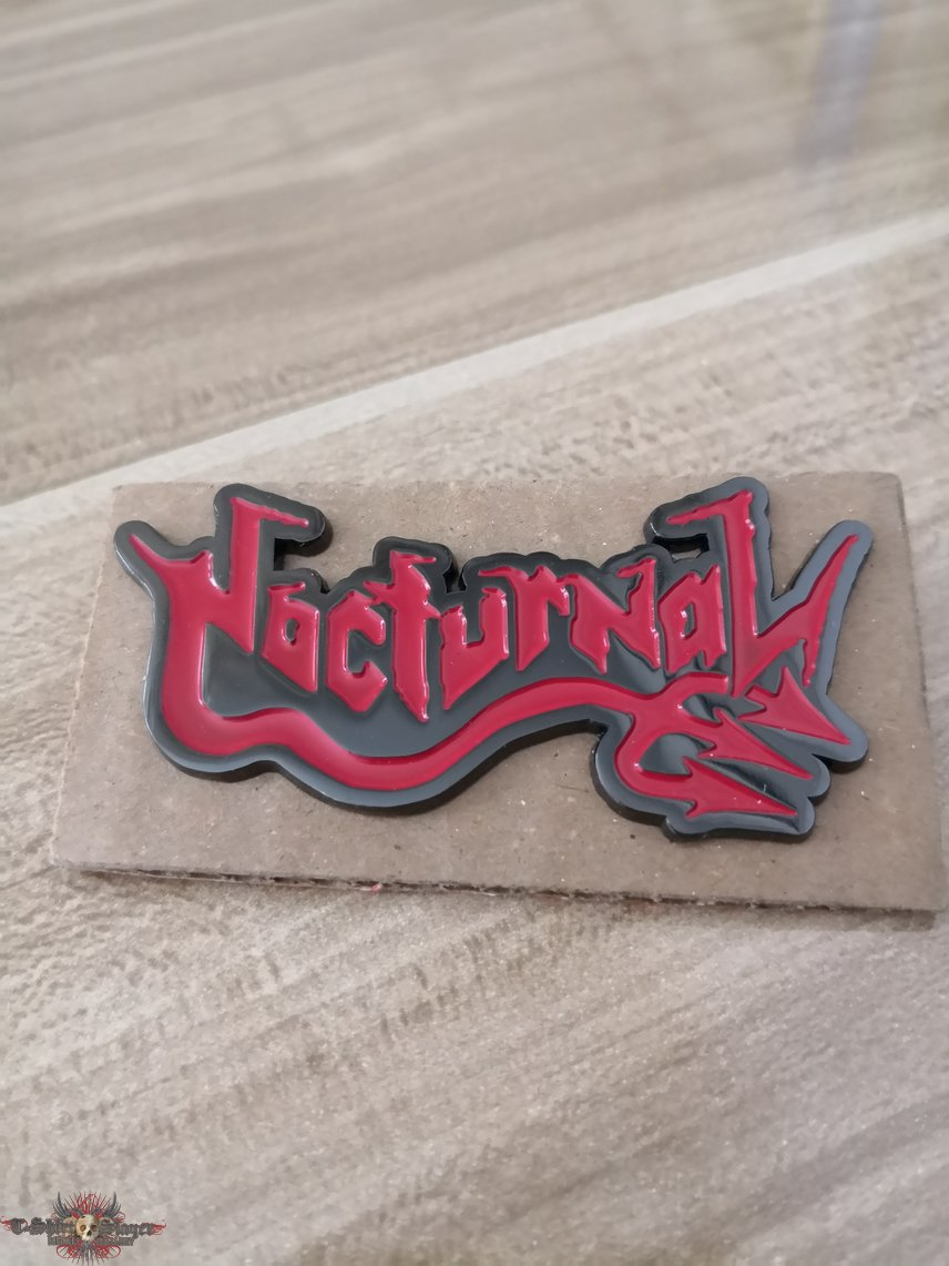 Nocturnal Official Metal Pin