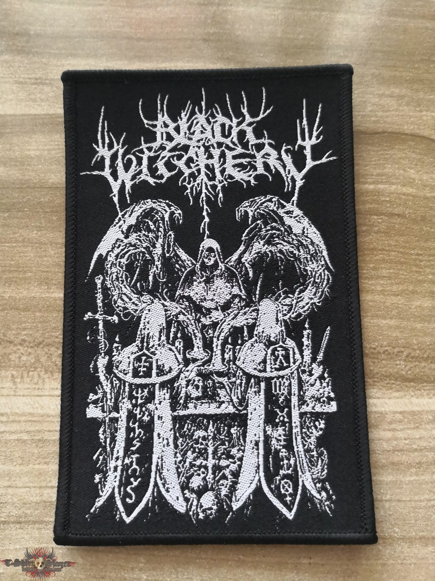 Black Witchery Official Woven Patch