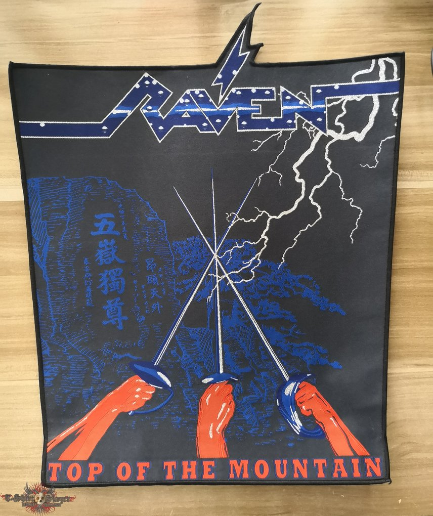 Raven Official Woven Back Patch