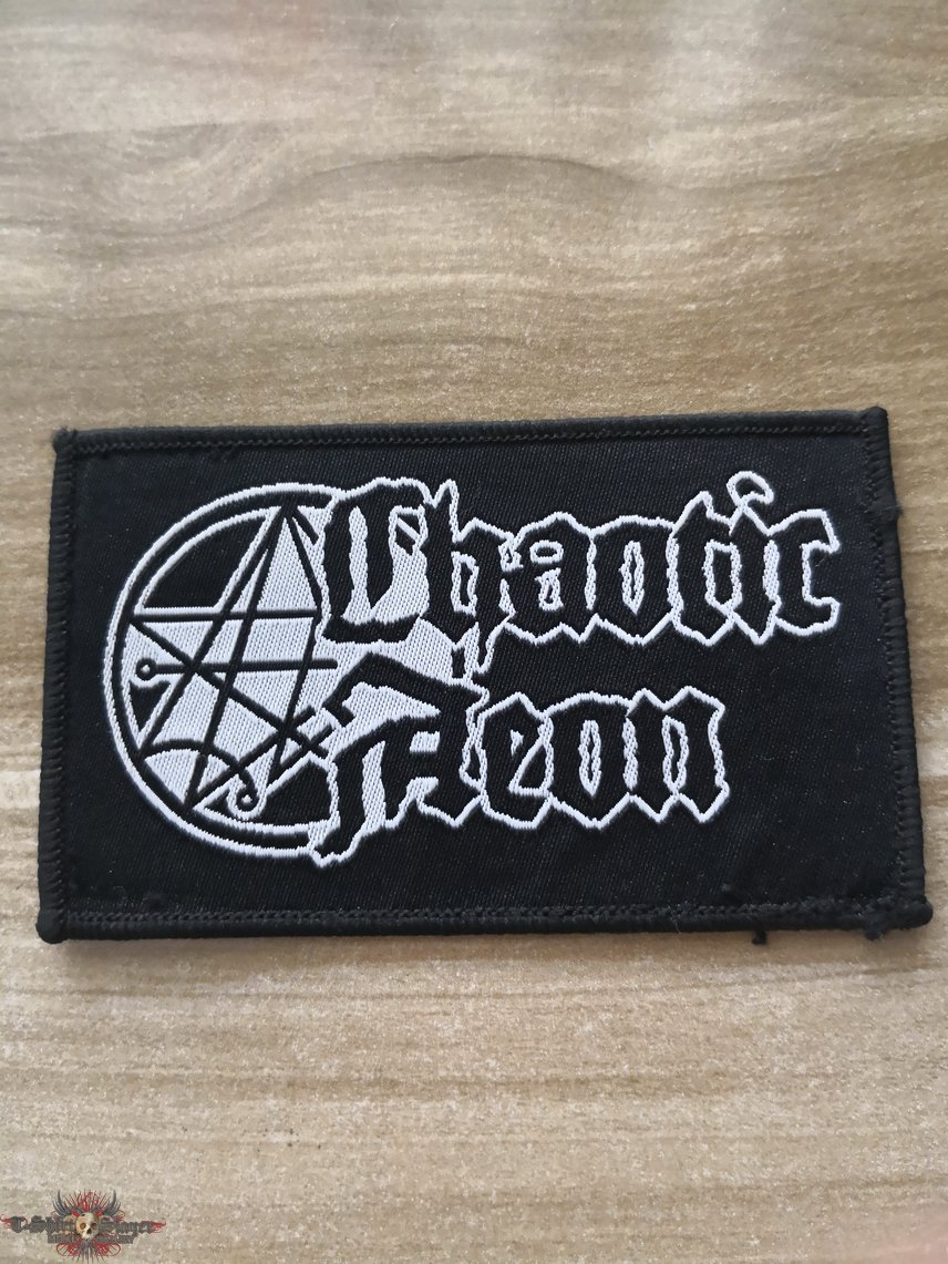 Chaotic Aeon Official Woven Patch