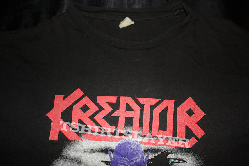 Kreator/Raven 1989 Tour shirt