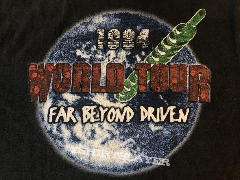 Pantera- Far Beyond Driven World Tour 1994