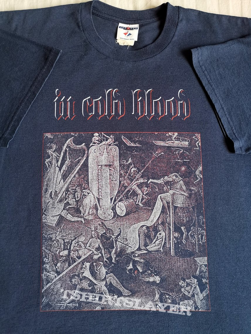 In Cold Blood 1998 Euro tour shirt