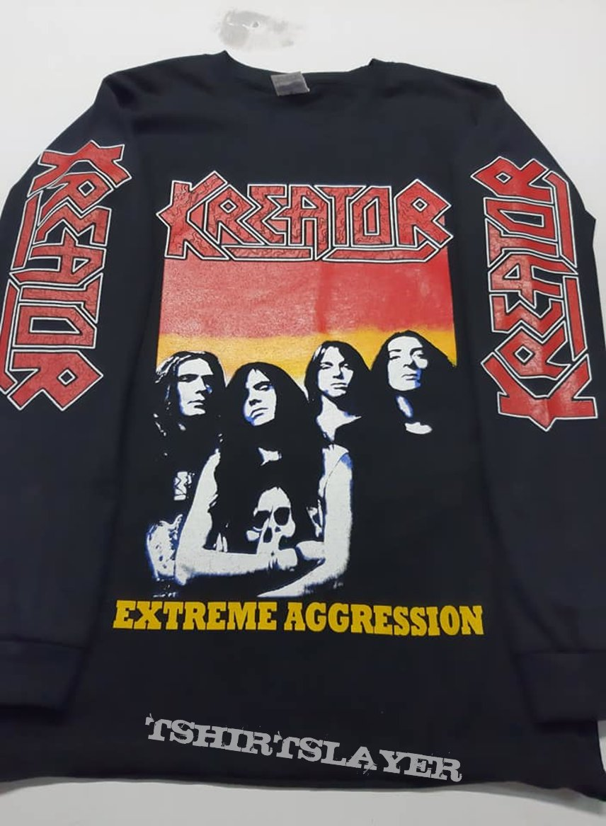 Kreator extreme aggression long sleeve t shirt